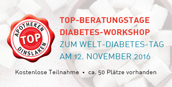 TOP-Beratungstage Diabetes-Workshop zum Welt-Diabetes-Tag