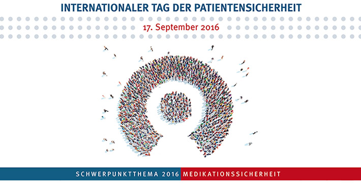 Internationaler Tag der Patientensicherheit am 17. September 2016